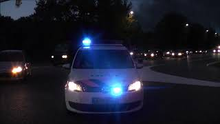Brandweer en politie met spoed naar grote brand Dongen