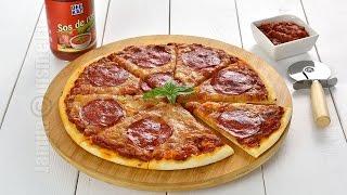 Pizza picanta | Pizza Diavola | Spicy Pizza (CC Eng Sub) | JamilaCuisine