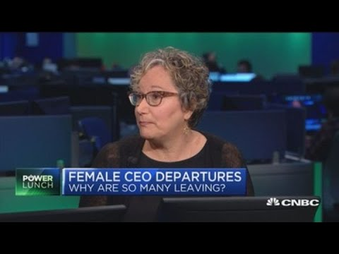 Female CEO departures, why are so many leaving? - YouTube