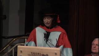 Steinunn Thorarinsdottir sculptor-Honorary Doctorate Speech