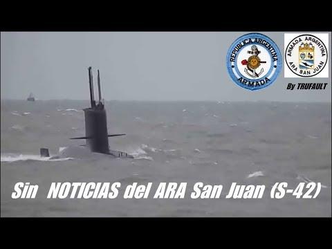 """Sin NOTICIAS del ARA """"San Juan"""" (S-42). 19/11/2017  By TRUFAULT"""