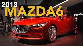 2018 Mazda6 First Look - 2017 LA Auto Show