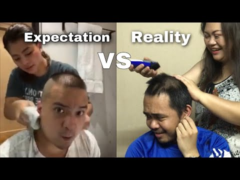 Shaving Daddy's Hair Gone Wrong?!! | Using The Worst Razor Ever!!