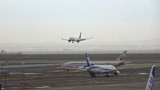 素敵な声の女性TWR管制官 エアバンド 音声付)羽田空港の北風の際の第2...