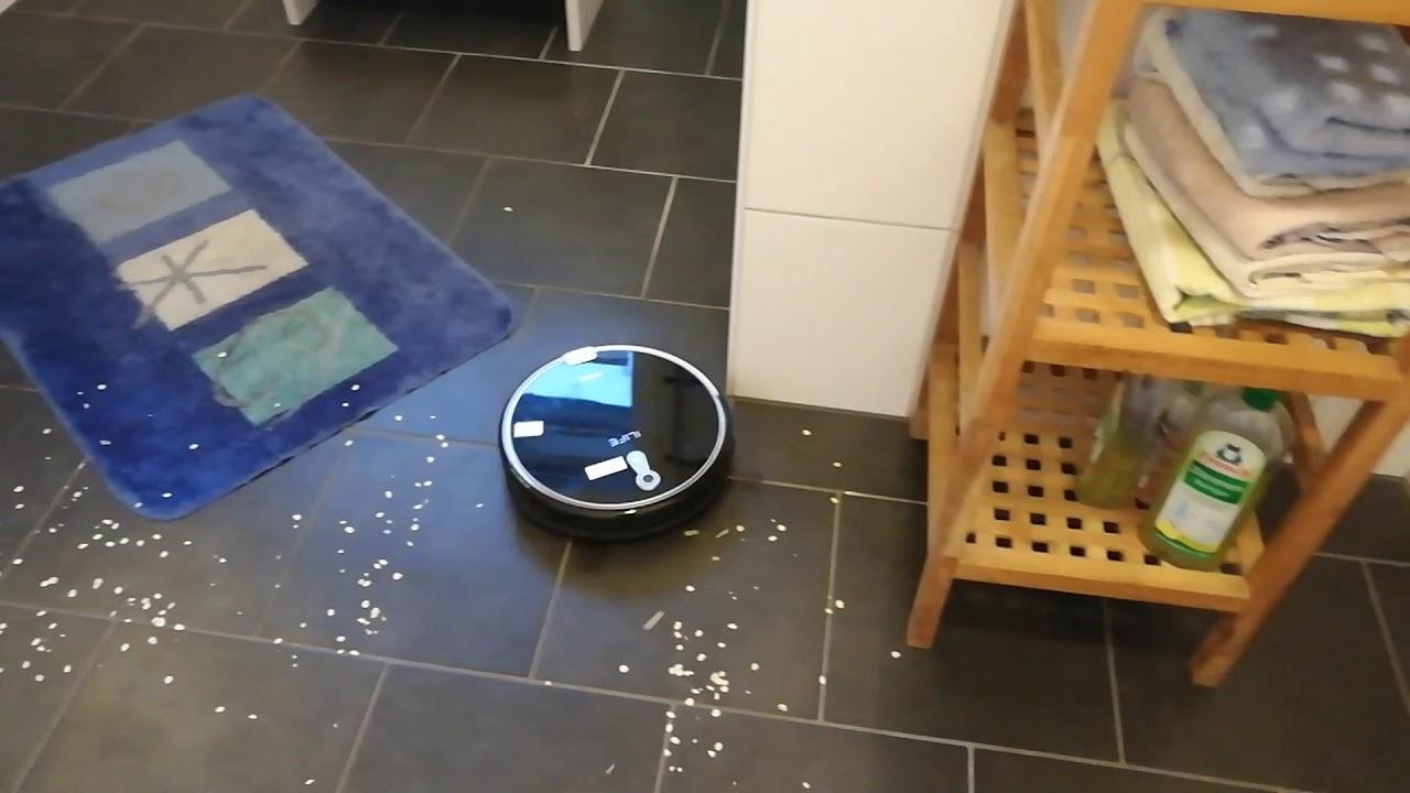 ilife a8 staubsauger roboter test 2018 youtube. Black Bedroom Furniture Sets. Home Design Ideas