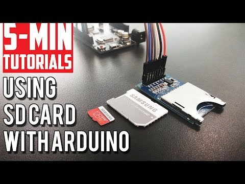 5-min Tutorials - SD Card Reader With Arduino - Code And Test