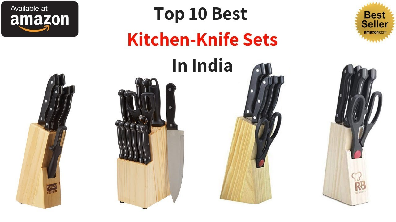 Top 10 Best Knife Sets for Kitchen in India with Price 2019 I Best Knife  Sets Brands review