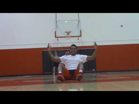 Crazy Basketball Trick Shots! (The Pit)