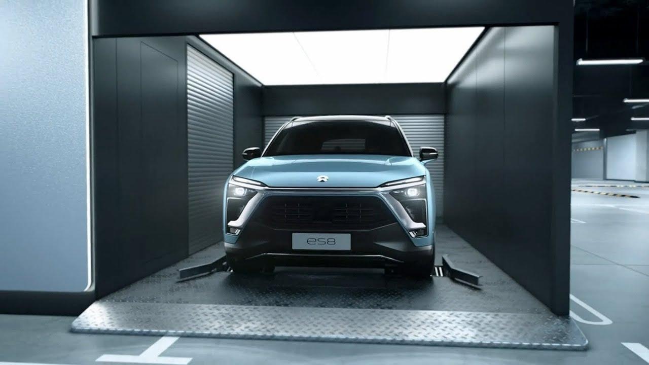 Toyota Trd Pro >> Nio ES8 - Battery Swap Station - YouTube