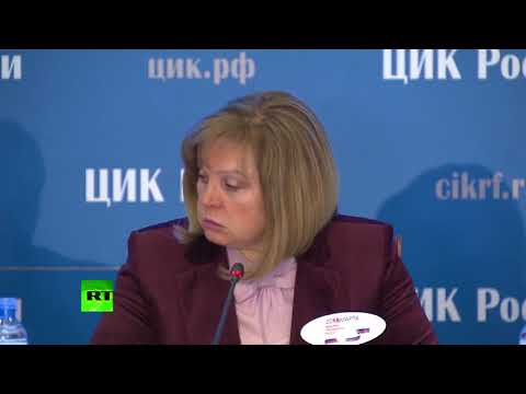 ЦИК объявила предварительные итоги выборов президента России