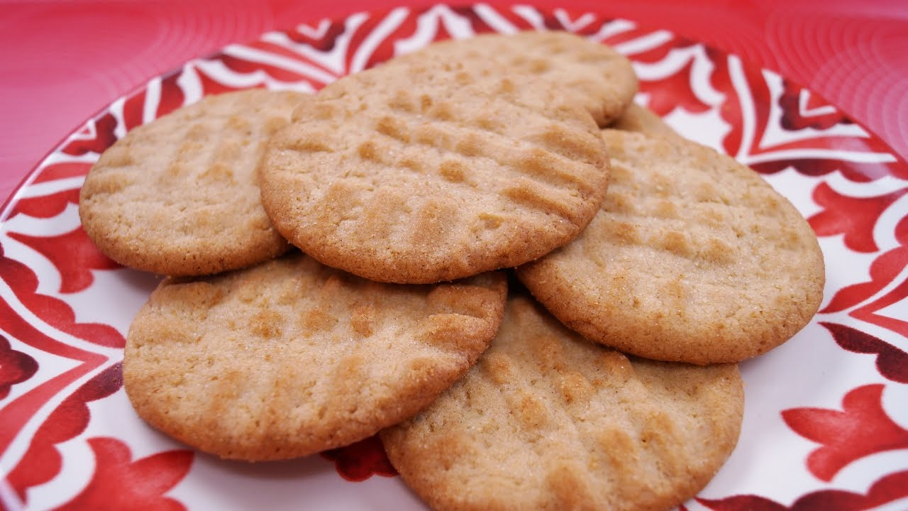Cookie recipes from scratch peanut butter