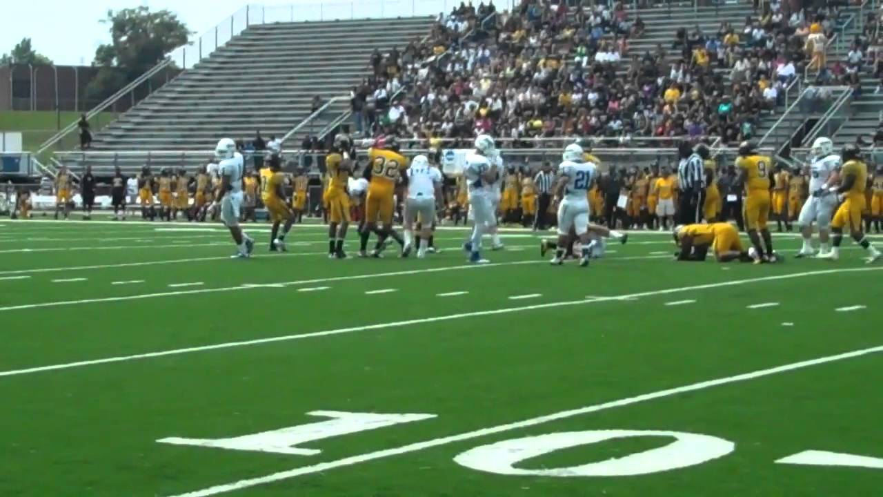 Assumption College Football Highlights At Bowie State Youtube