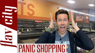 Panic Grocery Shopping At Walmart & Trader Joe's - Is Anything Left?!
