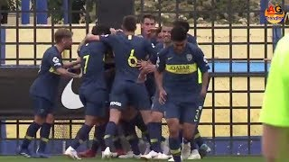 The first Superclásico went to Boca : the reserve won River in a duel with several familiar faces