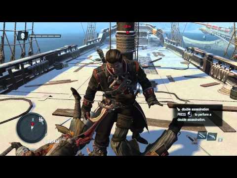 "Assassin's Creed Rogue: ""unusual"" ship boarding"
