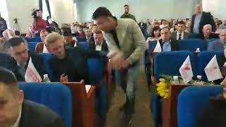 житомирські активісти подарували депутату міської ради фалоімітатор