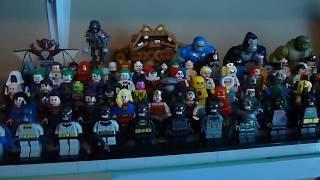 Lego DC Minifigure Collection Update (Batman, Justice League, Suicide Squad, Legion of Doom, etc.)