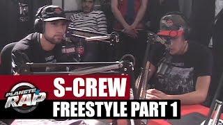 Gros freestyle de S-Crew dans Planète Rap