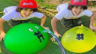 Balloon and Water : adel sami