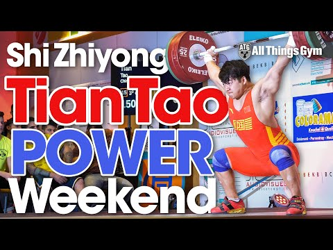 Chinese Power Weekend! Tian Tao, Shi Zhiyong (150+180 Power!), Li Dayin In Switzerland Compilation