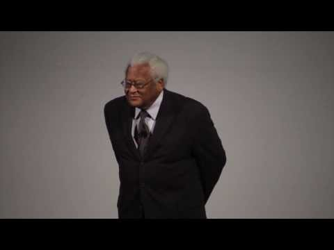 Reverend James Lawson speaks at All School Chapel