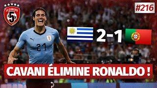 Replay #216 : Débrief Uruguay vs Portugal (2-1) COUPE DU MONDE 2018 - #CD5