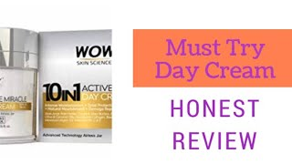 Wow Skin Science Active Miracle 10 in 1 Day Cream Honest Review|Must try| Stay Beautiful