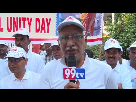 NATIONAL UNITY DAY CELEBRATED POST OFFICE HYDERABAD..