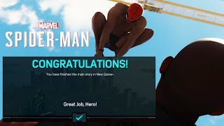 Spider-Man PS4 - After You Finished In New Game Plus Mode..