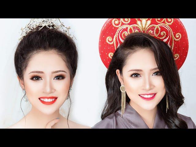 [Hùng Việt Makeup] 2 Kiểu Trang Điểm Cô Dâu Lễ Gia Tiên Và Tiệc Cưới / Hùng Việt Makeup