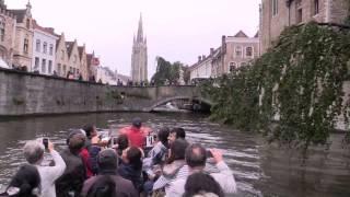 Прогулка по каналам Брюгге, Бельгия   1080 HD(P.S. Фрагмент моего фильма о Брюгге. * * * * * * Наиболее красноречиво, средневековый характер Брюгге выраж..., 2015-08-07T15:24:11.000Z)