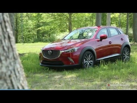 Mazda Cx 3 Consumer Reports Comparison Honda Hrv Chevy Trax