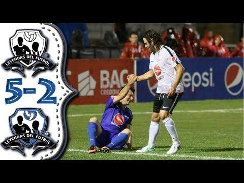 Leyendas de Honduras vs Leyendas del Mundo 2-5 Golazos  de Rambo de Leon.