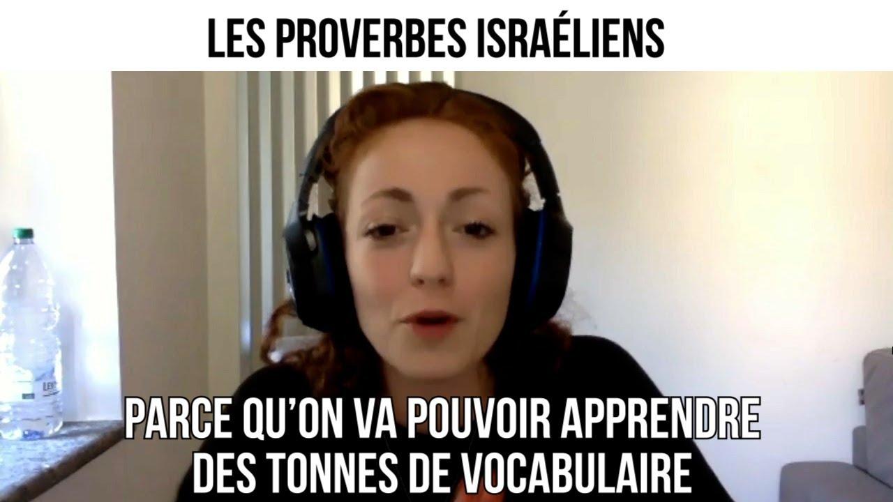 Les proverbes israéliens les plus courants - Opération Tsabar #48