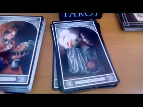 Watcher Angel Tarot Unboxing