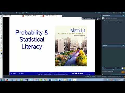MAT1100 section 4.5 stat literacy