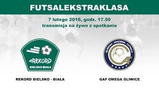 Futsal Ekstraklasa 2015/16: Rekord Bielsko-Biała - GAF Omega Gliwice