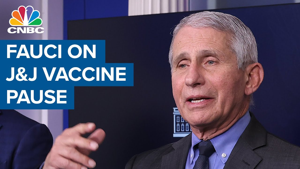 Dr. Anthony Fauci addresses J&J vaccine pause — 'This is a very rare event'