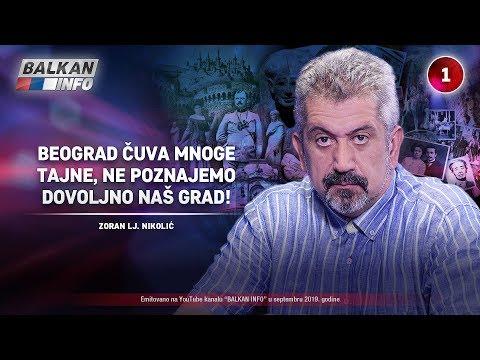 INTERVJU: Zoran Nikolić - Beograd čuva mnoge tajne, ne poznajemo dovoljno naš grad! (21.9.2019)