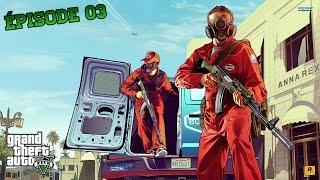GTA V #3 | LA ROUTE EST LONGUE