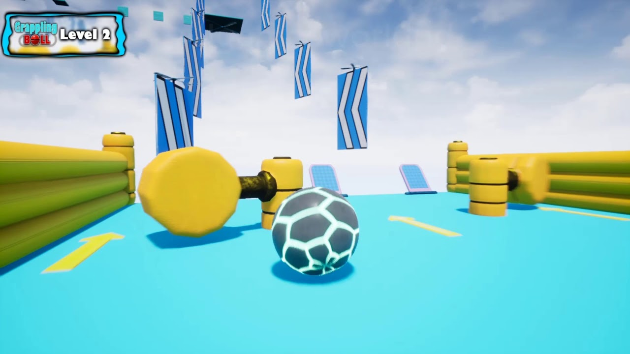 Grappling Ball Gameplay (PC Game)