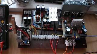 видео Схема. Мощный стабилизатор двухполярного напряжения для УМЗЧ
