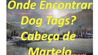 BF4–Onde encontrar a Dog Tag(Phantom) Cabeça de Martelo