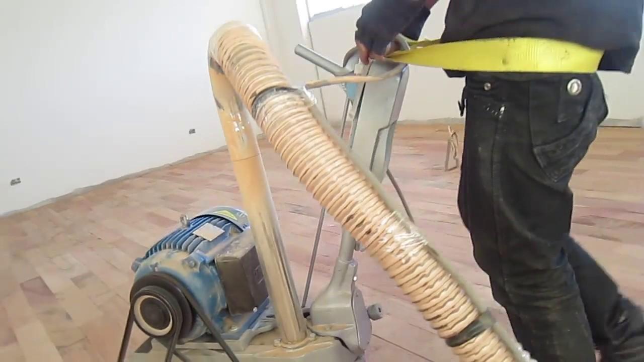 Venta de maquina pulidora cepilladora para piso de madera for Pulidora de hormigon