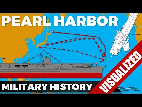 Pearl Harbor – The Japanese Attack #Pacific