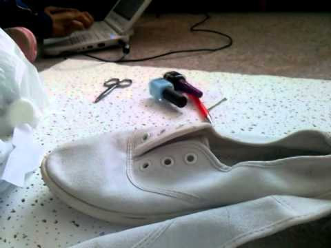 Materiales Youtube Unos Zapatos Crear Falsos Vans Para rYWnv7Pr