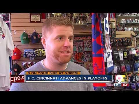 FC Cincinnati advances in playoffs