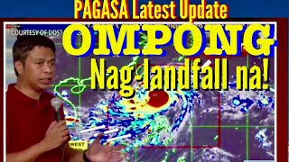 SUPER TYPHOON OMPONG LANDFALL/ LAtest Update by PAGASA, SEPTEMBER 15, 2018