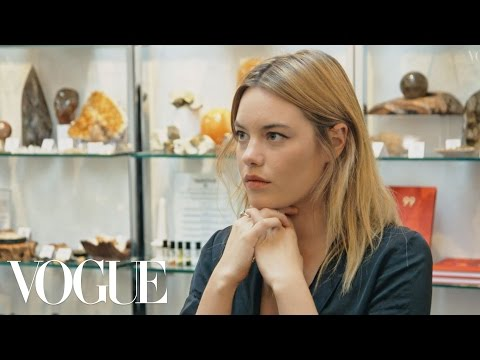 Camille Rowe Explores Psychology & Mindfulness (Clip 3) | What on Earth is Wellness? | British Vogue
