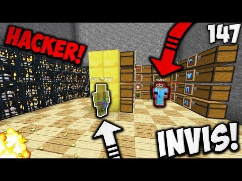 INSANE INVIS RAID ON A HACKER?! | Minecraft FACTIONS #147